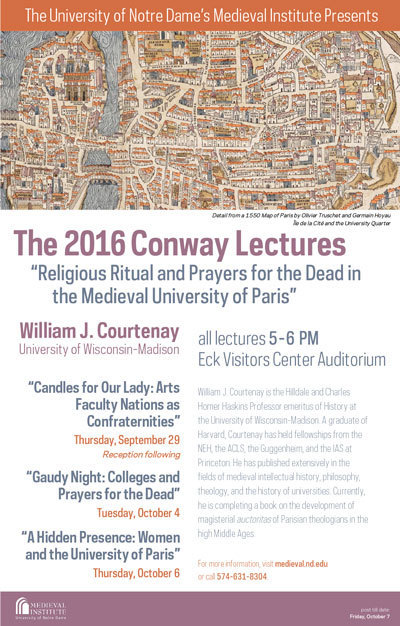 Conway Lectures Poster 2016
