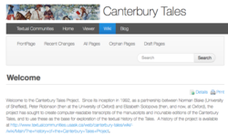Canterbury Tales Project II