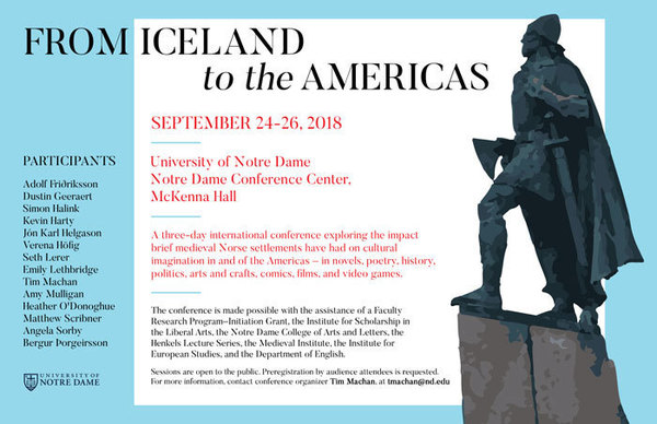 Iceland Conference Poster