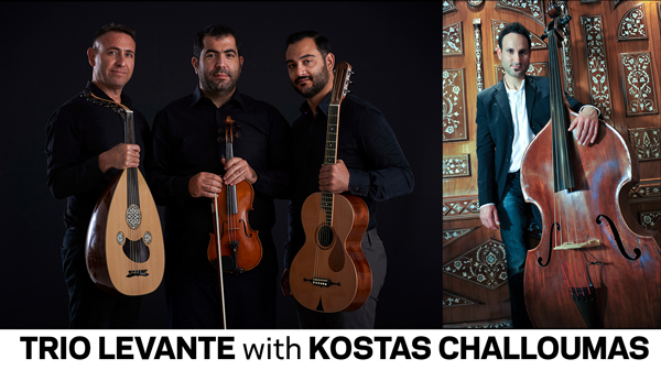 Trio Levante with Kostas Challoumas