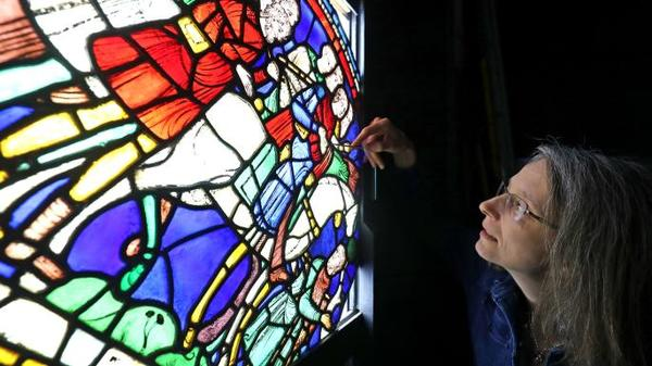 Rachel Koopmans examines medieval stained glass