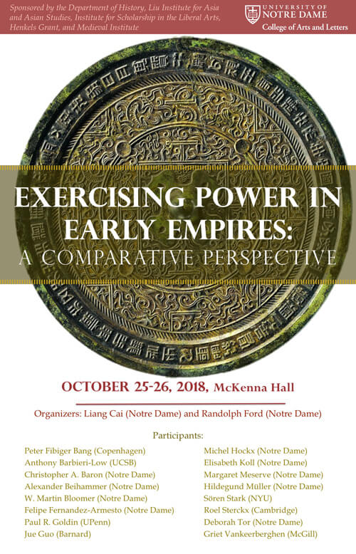 Exercising Power In Early Empires 2018 Poster