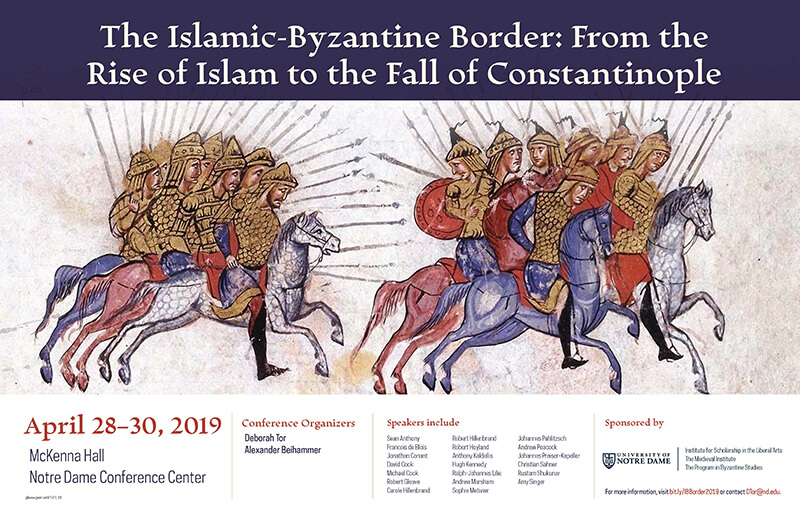 Islamic Byzantine Border Conference Poster