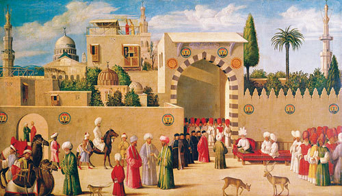 Reception of the Venetian Ambassadors in Damascus, 1511