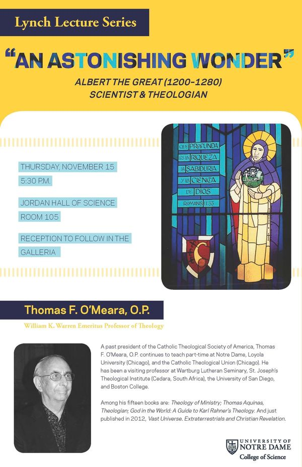 O'Meara lecture poster